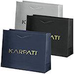 Rome Matte Eurotote Shopping Bags